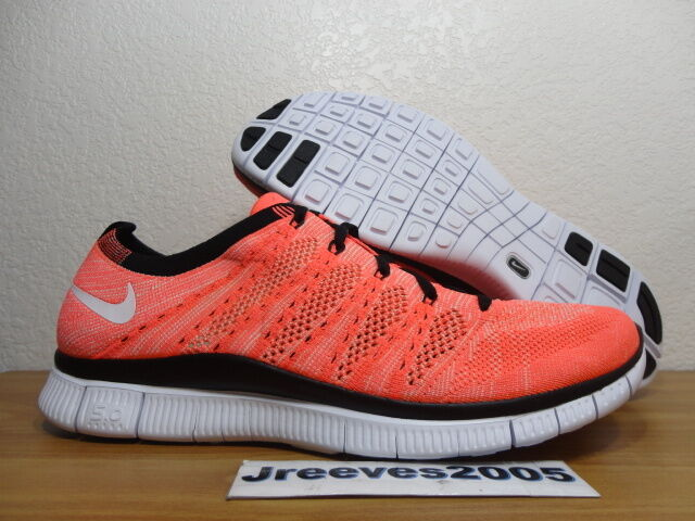 f478c800ba48 Nike Flyknit NSW Hot Lava Sz 10.5 100 Authentic Running 599459 800 for sale  online