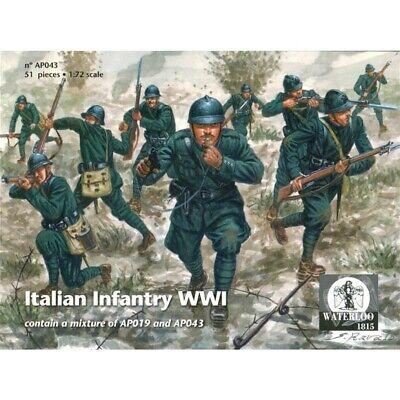 100% Vero Waterloo 1815 1:72 Soldatini Fanteria Italiana Infantry Wwi Art Ap043 Adottare La Tecnologia Avanzata