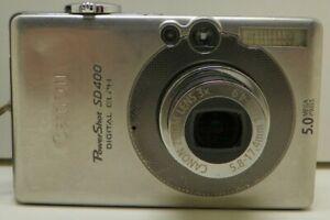 Canon-PowerShot-Digital-ELPH-SD400-5-0MP-Digital-Camera-Working-100