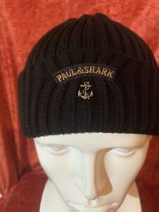 Paul-and-shark-beanie-hat