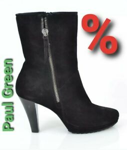 Leder Damen Paul Zu Sale Neu Schwarz Details Stiefel Green Elegante Stiefelette cFK1lJ