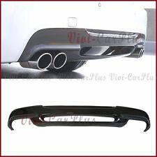 For BMW 06-11 E90 E91 328i 335i M Tech Bumper Carbon Fiber 3D Look Rear Diffuser