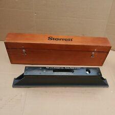 Starrett Machinist Master Precision Level No 199 Usa 15