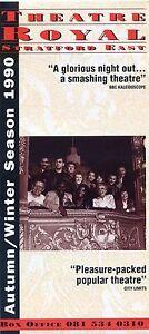 THEATRE-ROYAL-STRATFORD-EAST-1990-Theatre-Flyer-Leaflet