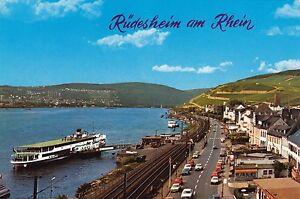 Rüdesheim am Rhein , Ansichtskarte - Rostock, Deutschland - Rüdesheim am Rhein , Ansichtskarte - Rostock, Deutschland
