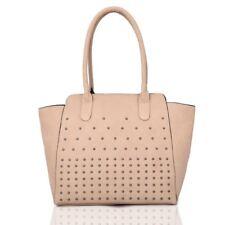 6247e77337f item 2 New Women s Designer Style Tote Bag Ladies Studded Shoulder Shopper  Bag -New Women s Designer Style Tote Bag Ladies Studded Shoulder Shopper Bag