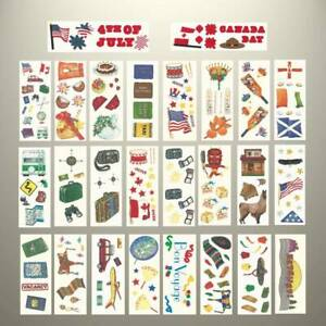 Creative-Memories-TRAVEL-CRUISE-HOLIDAY-THEME-STICKERS-VARIETY-TO-CHOOSE