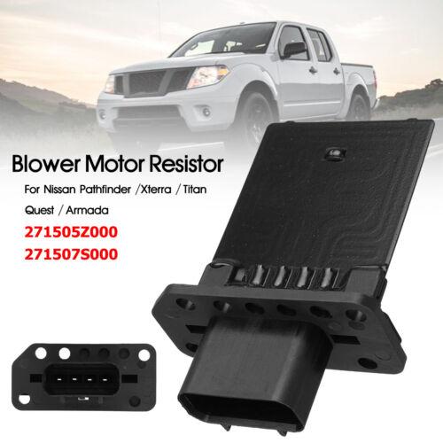 Blower Fan Motor Resistor 4 Pins For Nissan Pathfinder Xterra Titan 271505Z000