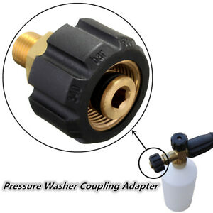 Pressure-Washer-Coupling-Adapter-For-Karcher-HDS-amp-HD-M22F-Compatible-Foam