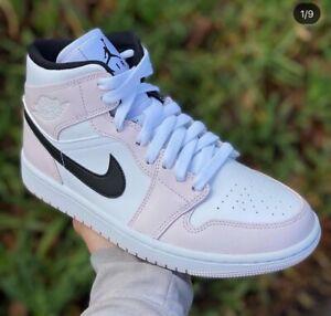 Nike Air Jordan 1 Mid 'Barely Rose' Size 11W- BQ6472 500   eBay
