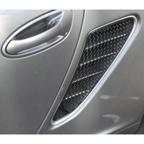 Zunsport Black side mesh vent grille kit Porsche Boxster 987.1 05-12