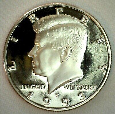 1993 S 50c Kennedy Half Dollar Clad US Coin Choice Proof