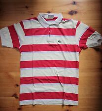 Chemise LACOSTE Poloshirt Gr. S - Made in France