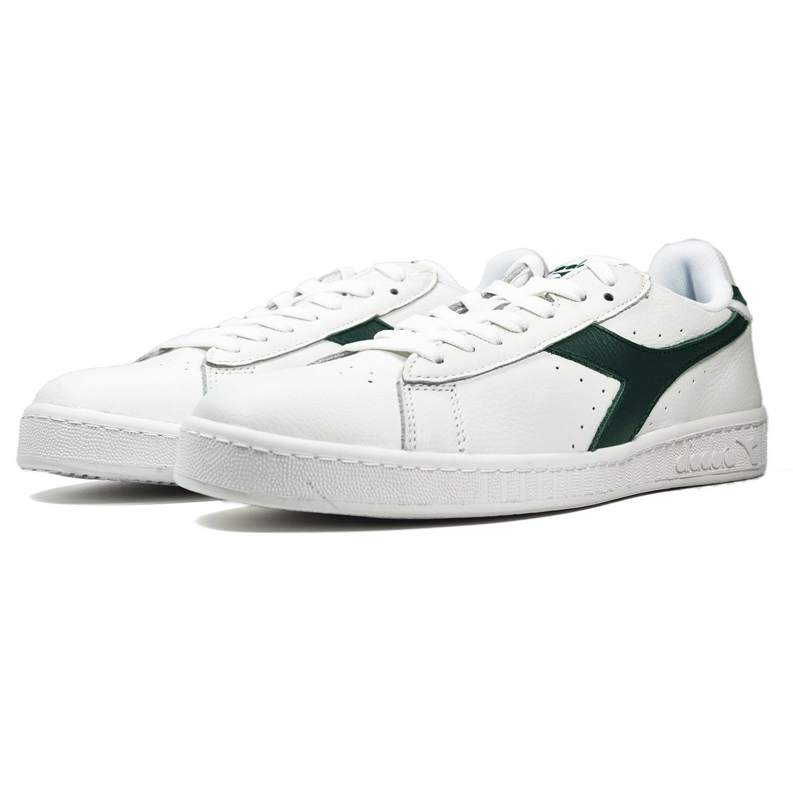 Men's Waxed Brand New Diadora Game L Low Waxed Men's Athletic Fashion Sneakers [C6646] bb663e