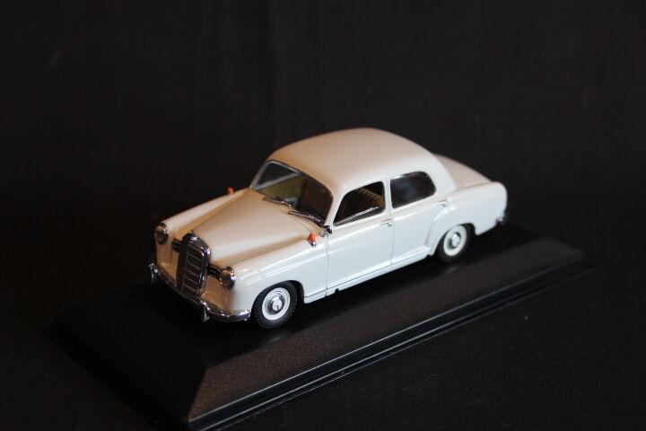 Minichamps Mercedes-Benz Mercedes-Benz Mercedes-Benz 180 1953 - 1957 1 43 Grey (JS) aa954f