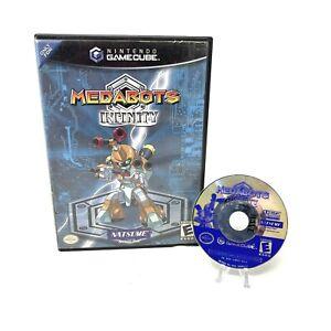 Medabots-Infinity-Nintendo-GameCube-2003-In-Box-No-Manual-Tested-Natsume