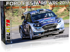 BELKITS FORD FIESTA RS WRC 2017 TANAK TOUR DE CORSE 1 24 BEL013