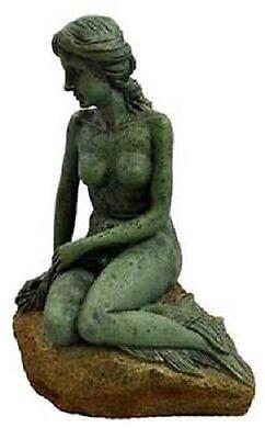 DEEP BLUE Deco Concepts Mermaid Statue Small   7 inch