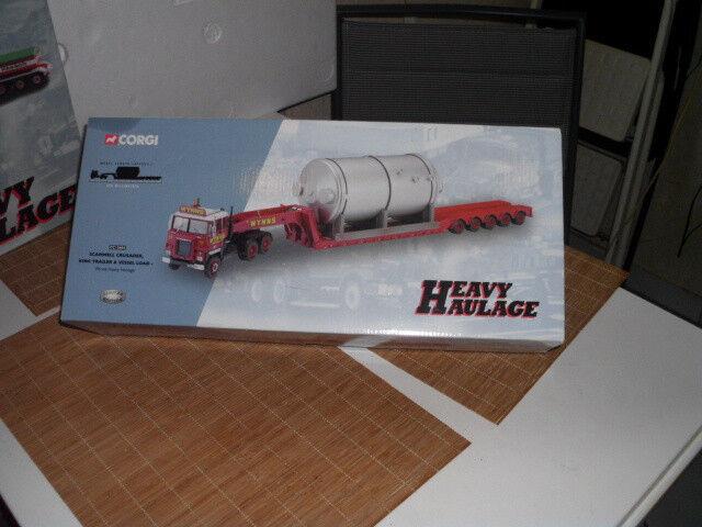 Corgi CC12604 - Heavy Haulage - OVP - mit Kessel - selten - rar