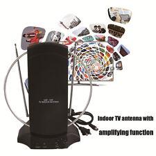 Indoor Digital TV Antenna 50 Mile HDTV UHF VHF 36db Signal Booster