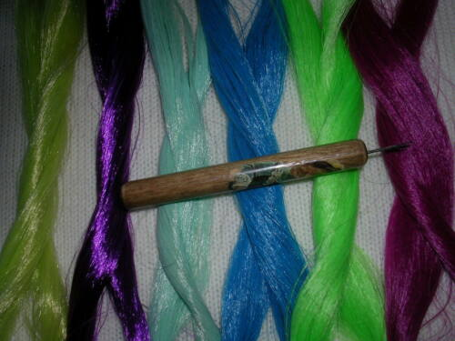1 skein Saran and 1 extra needle PRO HAIR ROOTING TOOL 4 MY LITTLE PONY II