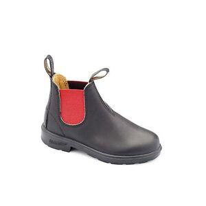 Noir 35 Rouge Chaussures Blundstone En Enfant 28 Enfants Du Élastique au 581 Bottes Cuir q00O8wXT