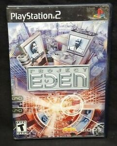Project-Eden-PS2-Playstation-2-Game-Tested-Working-Complete