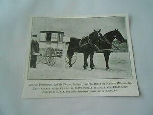 Clarles-Pommerroy-Facteur-comte-de-Madison-Minesota-USA-Image-Print-20em