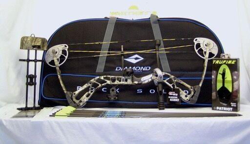 Diamond By Bowtech Infinite Edge SB1 SB-1 Camo Paquete de mano derecha - - 7-70