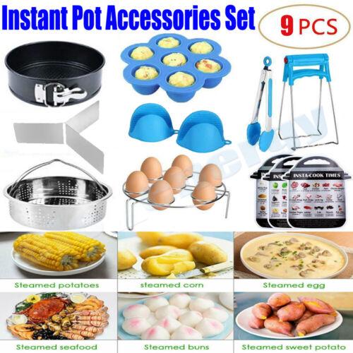 9Pcs Instant Pot Accessories Set Home Kitchen Instapot Pressure Cooker Tools set
