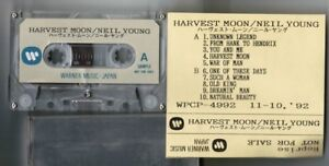 NEIL-YOUNG-Harvest-Moon-JAPAN-PROMO-ONLY-ADVANCED-CASSETTE-TAPE-w-PS-Free-S-amp-H-PP