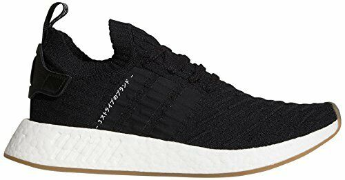 c7ff813c116537 adidas NMD R2 PK Japan Core Mens By9696 Black Primeknit Running Shoes Size  9.5 for sale online