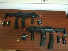 Refurbished MP7 airsoft AEG ultimate duelers kit. 2 loaded MP7's!! Free Ship
