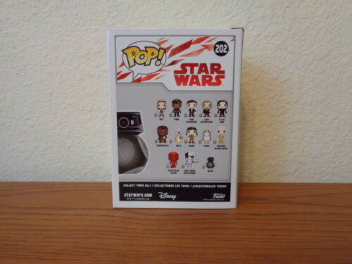 Funko POP BB-9E #202 Star Wars Episode 8 The Last Jedi Figure MIB IN HAND BB9E