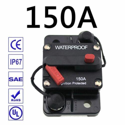 Ampere-Leistungsschalter-Sicherung zurücksetzen 12-48 V DC Auto wasserdicht