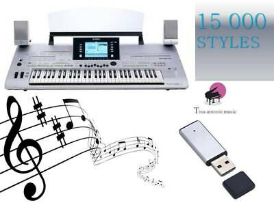 PSR s910 USB-stick+15000 styles