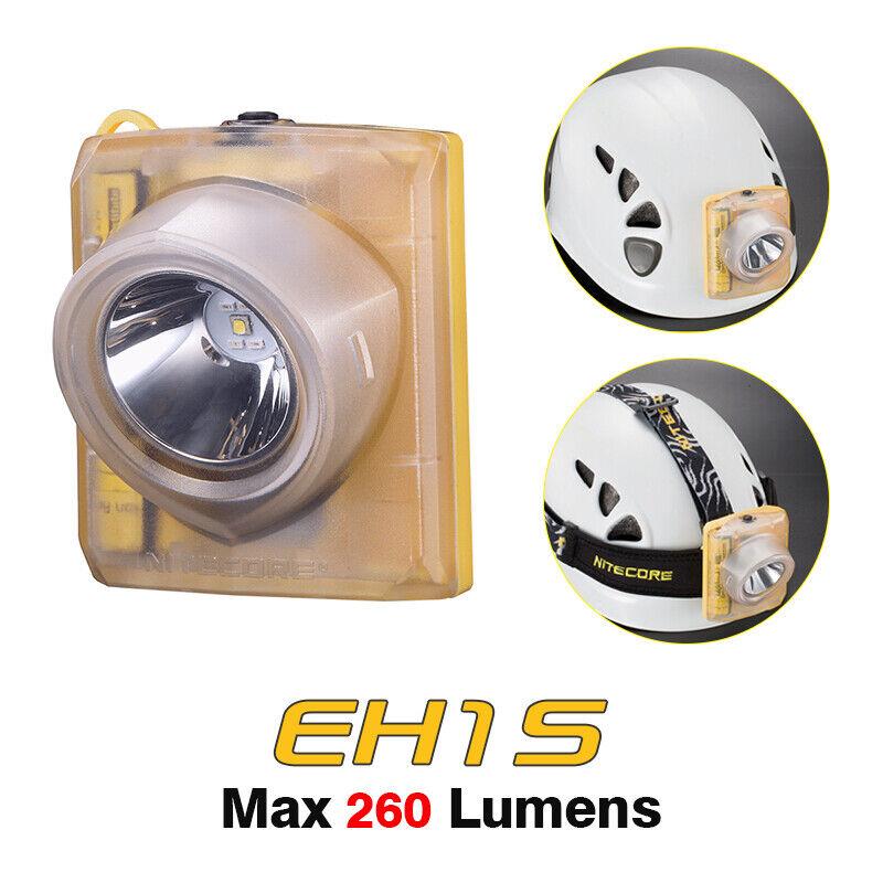 Nitecore EH1S blancoo Cálido XP-G2 S3 LED USB Recargable Faro Faro