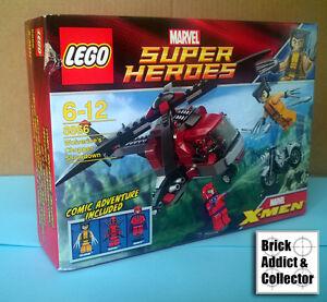 LEGO ? Marvel Wolverines Chopper Showdown 6866 boite neuve et scellee