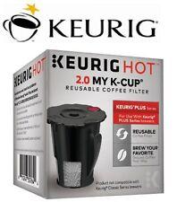 Genuine Set of 3 Keurig Hot 2.0 My K-cup Reusable Coffee Filter