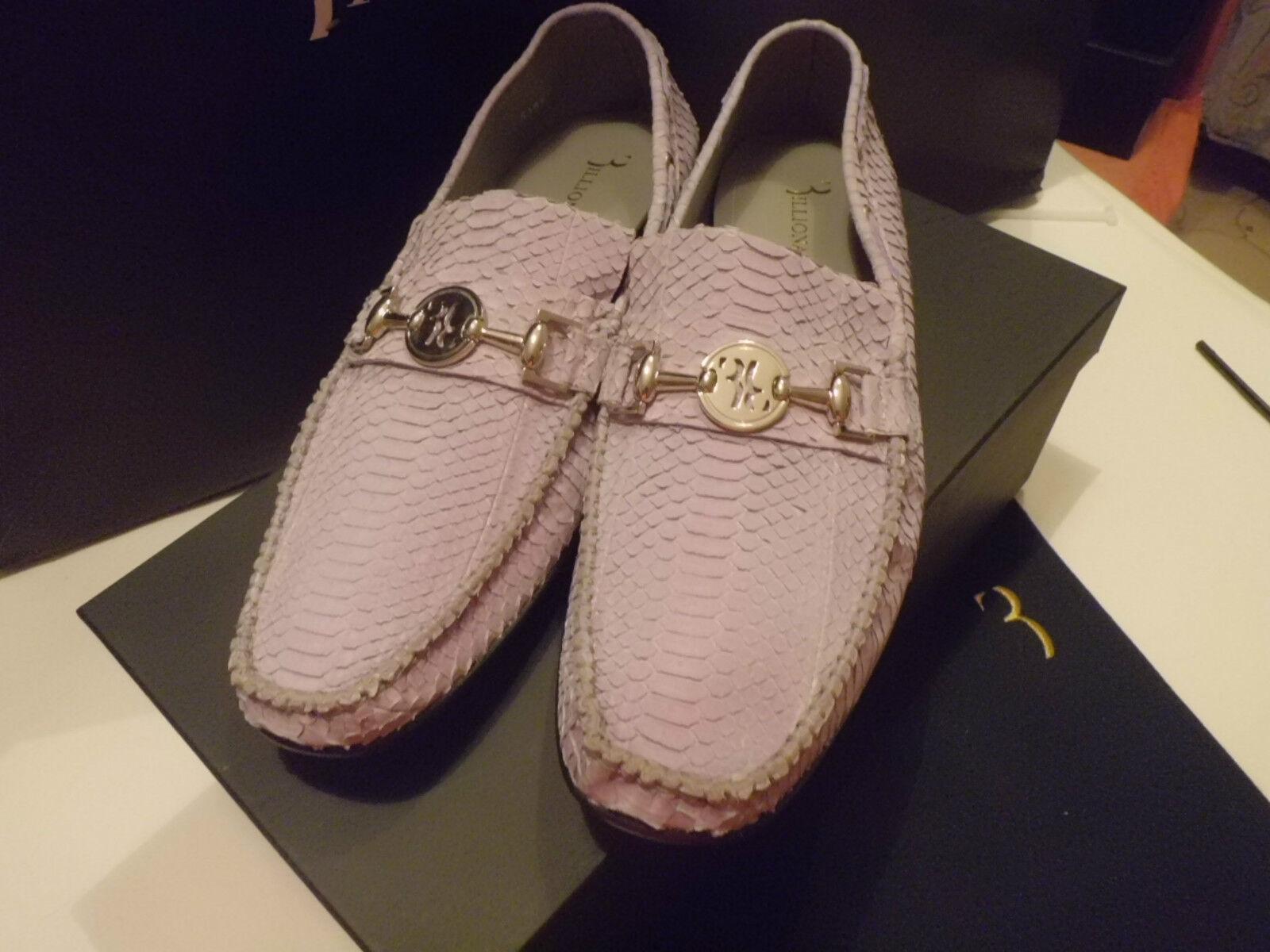 BILLIONAIRE Italian Couture  Mocassino Uomo  Pitone  Fibia  Couture size 44 8d2dbc