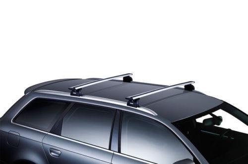 Kit Barre portatutto THULE WingBar Grigio Opel CROSSLAND X 2017 tetto normale