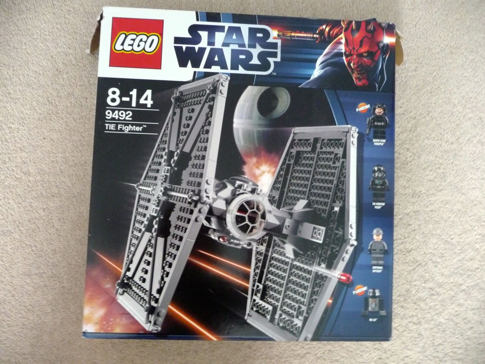 LEGO 9492 Star Wars  TIE FIGHTER 9-14YRS used once