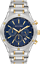 Bulova-Men-039-s-98B284-Quartz-Chronograph-Blue-Dial-Two-Tone-Bracelet-43mm-Watch