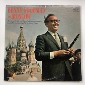 Benny Goodman In Moscow RCA Victor Records LSO 6008 Jazz 2 LP Jazz Big Band