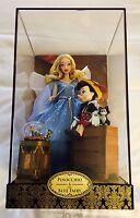 PINOCCHIO & FEE BLEUE exclusivité D23 Poupée Edition Limitée Disney FAIRYTALE