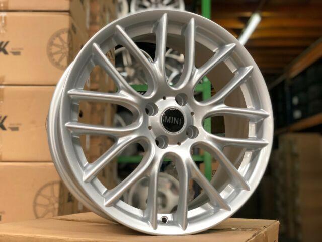 Nuevo 4x acero llantas 5,5x15 et45 4x100 ml56 BMW Mini r50 UKL-C UKL-l mini Clubman