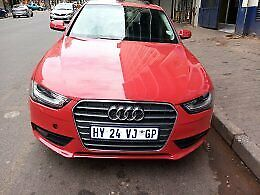 2014 Audi A4 1.8 T Ambition Multitronic (118kW), Red with 117000km available now!