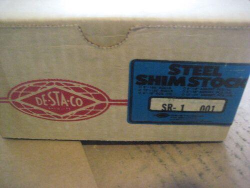 "DESTACO 6/""X180/""X.001 STEEL SHIM STOCK D1693-1"