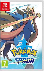 Nintendo Pokémon Spada videogioco Nintendo Switch Basic Cinese semplificato, Cin