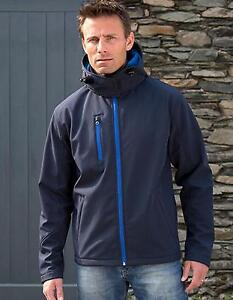 Mens Jacket Core Soft Lite Shell Hooded BZ8Awq